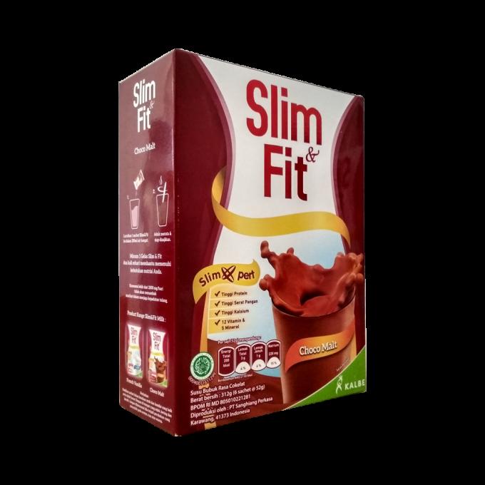 Kalbe Susu Diet - Meal Replacement Slim & Fit Rasa Choco Malt
