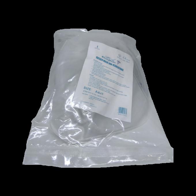Life Resources - Oxygen Mask Non-Rebreathing / NRM - Adult - Masker Oksigen Dewasa