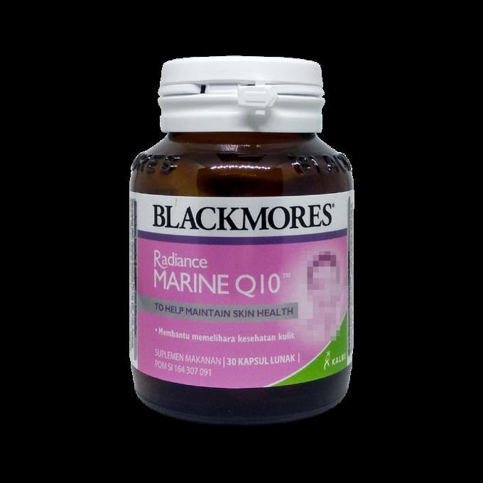 Blackmores Radiance Marine Q10 - Suplemen Makanan - 30 Kapsul Lunak